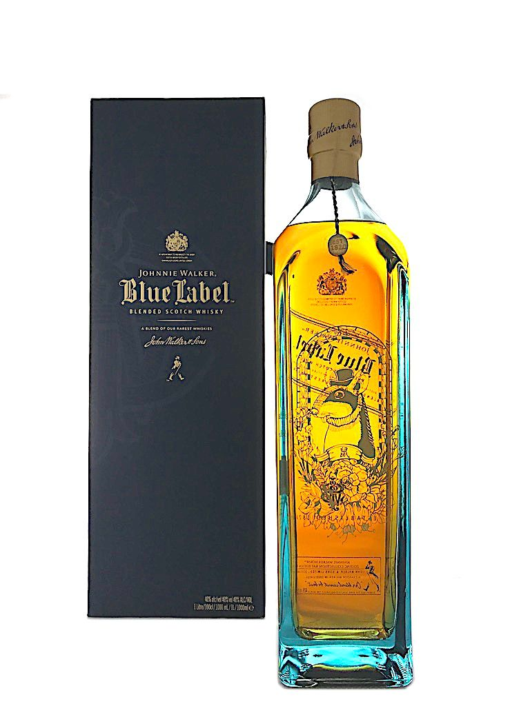Johnnie Walker Blue Label Full Set Of 12 Zodiac Limited